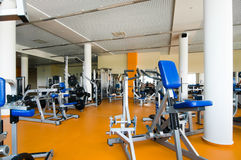Gym interior Stock Photos