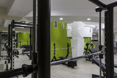 Gym interior. Design and equipment Royalty Free Stock Image