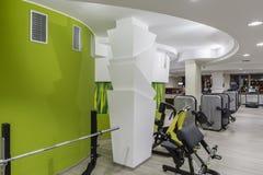 Gym interior. Designed Stock Image