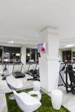 Gym interior. Designed Royalty Free Stock Image