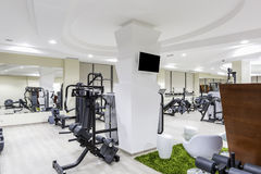 Gym interior. Designed Royalty Free Stock Photography
