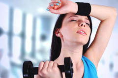 gym kobieta obrazy royalty free