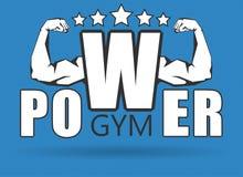 Gym logo Royalty Free Stock Photography