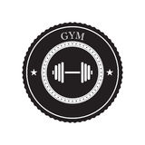 Gym logo vector Royalty Free Stock Photography