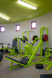 Gym machines. Machines to the strengthening of the body Stock Image