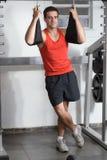 gym man Στοκ Εικόνες
