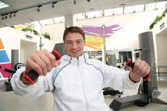 Gym man 6 Royalty Free Stock Photo