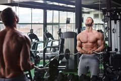 Gym man Royalty Free Stock Photography