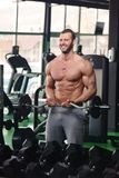 Gym man Royalty Free Stock Photos