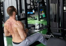 Gym man Stock Photography
