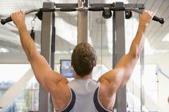 gym man portrait Στοκ φωτογραφία με δικαίωμα ελεύθερης χρήσης