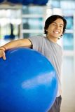 Gym man portrait Stock Images
