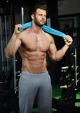 Gym man Stock Photo
