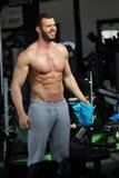Gym man Stock Photos