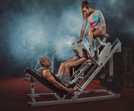Gym Royalty Free Stock Photo