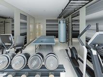 Gym modern style Stock Photos