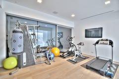 Gym na casa de campo Foto de Stock