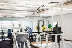 Gym with no people. Interior Royalty Free Stock Photography