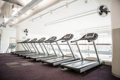 Gym with no people. Interior Royalty Free Stock Photo