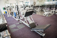 Gym with no people. Interior Royalty Free Stock Photos