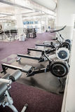 Gym with no people. Interior Royalty Free Stock Images