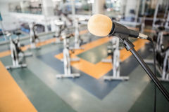 Gym with no people. Interior Royalty Free Stock Image