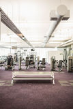Gym with no people. Interior Stock Image