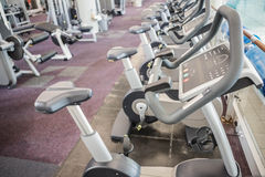 Gym with no people. Interior Stock Images