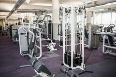 Gym with no people. Interior Stock Photography