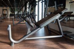 Gym With No People Interior Royalty Free Stock Photo