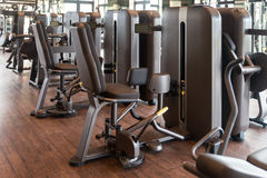 Gym With No People Interior Royalty Free Stock Photos