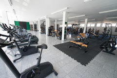 Gym With No People Interior Stock Photos
