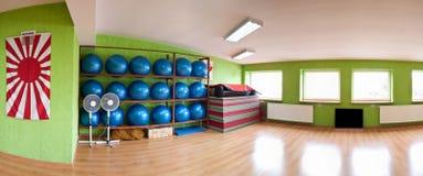 Gym panorama Zdjęcie Royalty Free