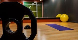 Gym panoramy wizerunek Fotografia Royalty Free