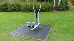 Gym in the park royalty free stock images