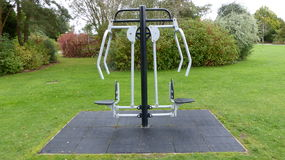 Gym in the park Royalty Free Stock Image
