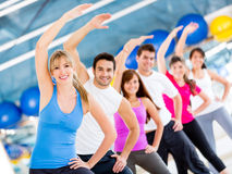 Gym people Royalty Free Stock Photos