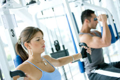 Gym people Royalty Free Stock Photo