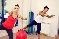 Gym for Pilates Royalty Free Stock Image