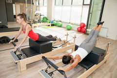 Gym for Pilates Stock Photos