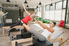Gym for Pilates Stock Images