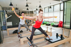 Gym for Pilates Stock Image