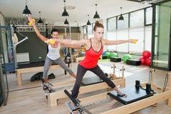 Gym for Pilates Stock Image