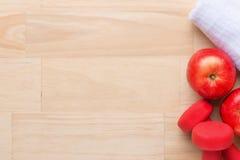gym pojęcie Treningu planowanie Zdrowa stylu życia i ciężaru strata Zdjęcie Stock