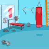 Gym pokój Fotografia Stock