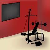 gym pokój ilustracji