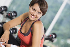 Gym portrait Stock Images