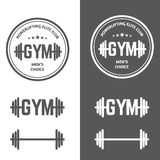 Gym Powerlifting royalty free stock photography