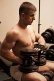 Gym practice Royalty Free Stock Photo