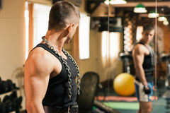 Gym practice Royalty Free Stock Image